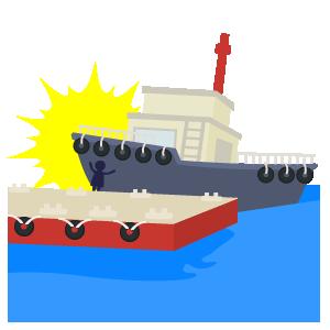 船舶の接触事故
